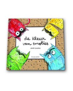 De kleur van emoties pop-up