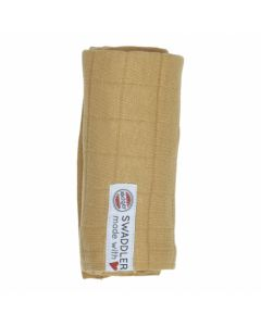 Lodger | Swaddle 70 x 70 Solid | Honey