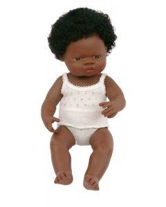 Miniland   Pop Afrikaans meisje (38 cm)