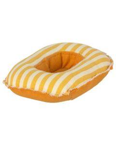 Maileg | Rubber bootje voor kleine muizen | geel gestreept
