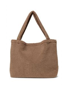 Studio Noos | Mom-bag Brown chuncky teddy